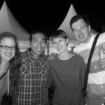 Stefi, Daniel, Pia, Chris