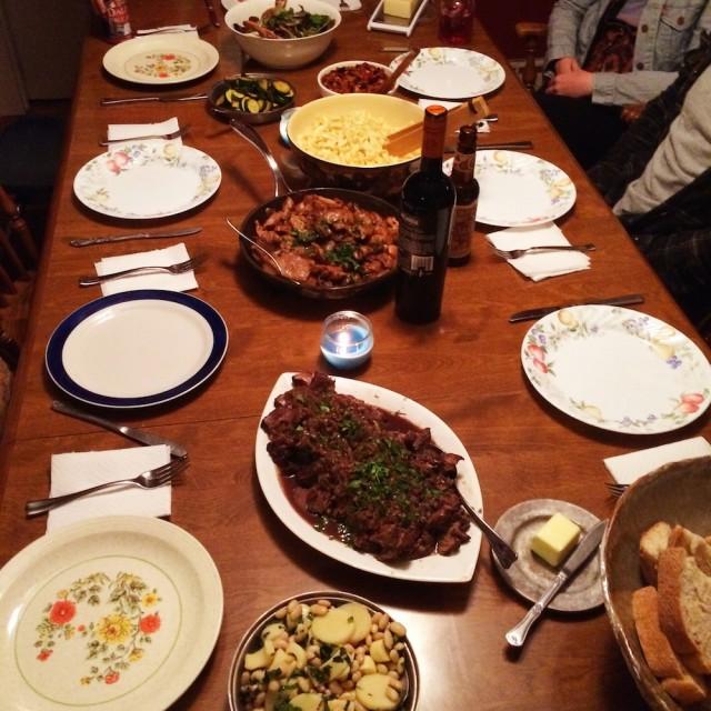 Anne's Dinner